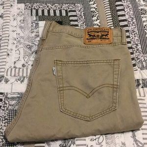 Levi's 34x34 tan 💯 cotton jean